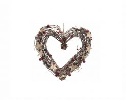 Natural Wreath Heart