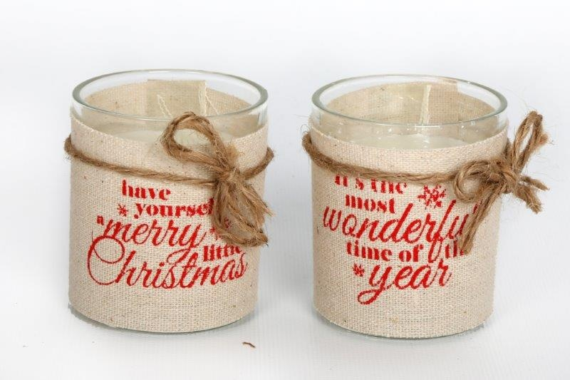 25215-linen-christmas-glass-candle-cups-6-5cm